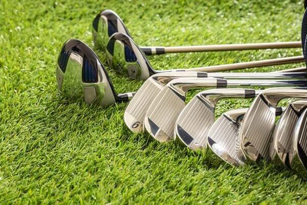 Golfklubbor för en nybörjare