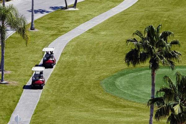 Att ta sig fram på din golfresa