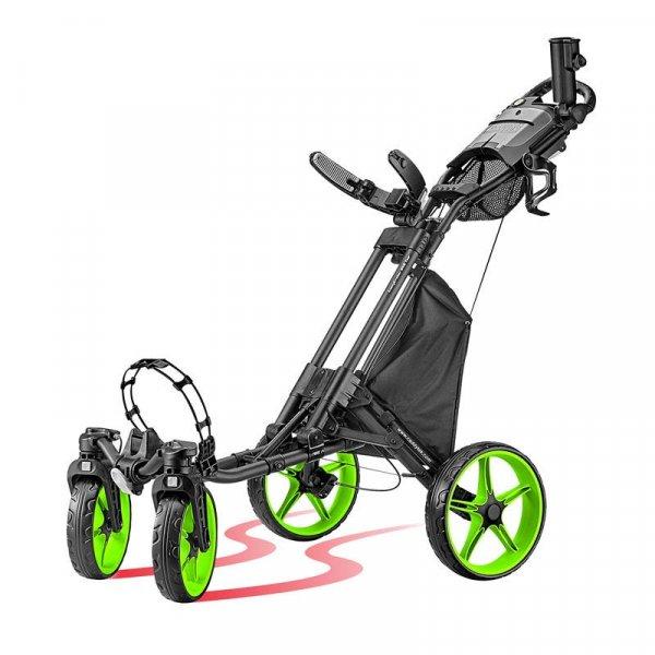 CaddyTek ONE TOUR Quickfold - 4 Wheel Golf Trolley från Caddytek.