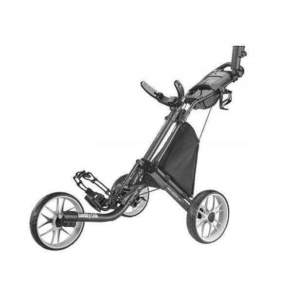 Caddytek EZ TOUR Quickfold Golfvagn med 3 Hjul - Mörkgrå från Caddytek.