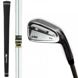 ERG V2 Forged Iron Set 4-PW - Right - TT Dynamic Gold Regular från Eagle Rebirth Golf.