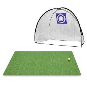 Super Sized Driving Net incl. Orlimar Golf Mat från OneSwing.